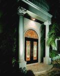 фото дизайнерское оформление витражами двери