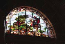 фото дракон роспись по стеклу