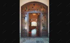 фото дверные фрамуги с витражами