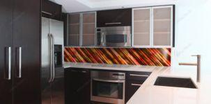 Фотостекло для фартука кухни