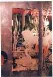 фото матовое зеркало с рисунком