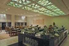 фото потолок с пескоструйным стеклом
