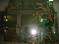Рисунки на стекле на шкаф купе фото