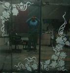Рисунки на зеркале шкафа фото