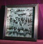 фото рисунки пескоструя животных
