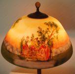 фото роспись настольной лампы