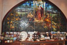 фото роспись по стеклу в греческом стиле