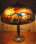 фото роспись стеклянной лампы