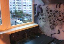 фото стеклянное панно для кухни