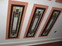 фото стена из витражей