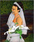 фото свадебный витраж