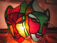 фото светильник маска