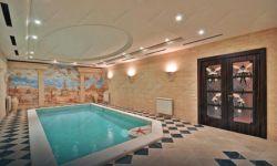 фото входной витраж в бассейн