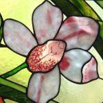 Витраж цветы фото