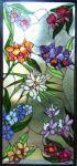 фото витраж цветы Тиффани