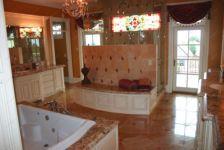 Витраж для ванной фото
