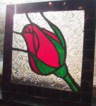 фото витраж готическая роза