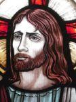 фото витраж иисус христос