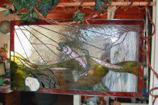 фото витраж картинки рыбы