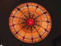 фото витраж круглый потолок
