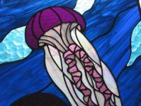 фото витраж медузы