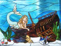 фото витраж морская тематика