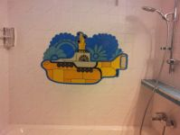фото витраж подводная лодка
