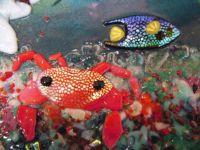 фото витраж подводный мир