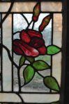 фото витраж роза