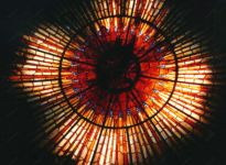 фото витраж в синагоге