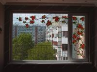 фото витражи на балкон