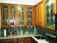фото витражи на кухонных фасадах