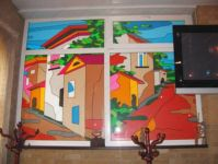 фото витражные дома