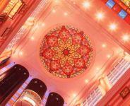 фото витражные потолки в классическом стиле