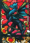 фото витражные рисунки дракон