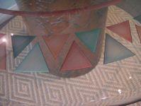 фото витражные рисунки треугольником