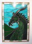 фото витражный дракон