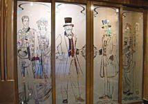 фото пескоструйные рисунки на зеркалах