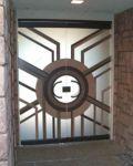 фото стеклянные двери витражи