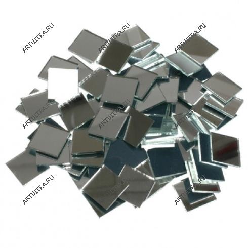 Рис. 3. Зеркальный потолок можно сделать и из плитки.