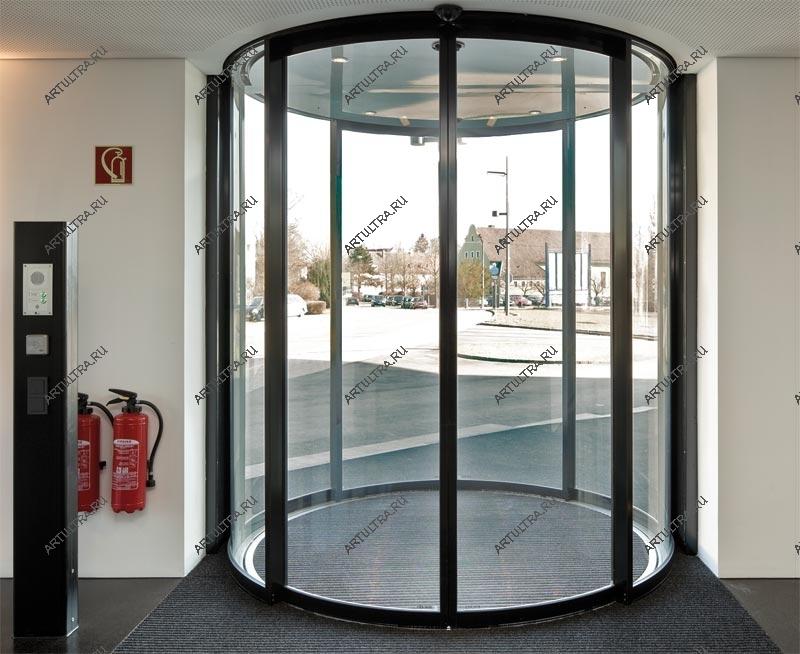 Полукруглые автоматические двери