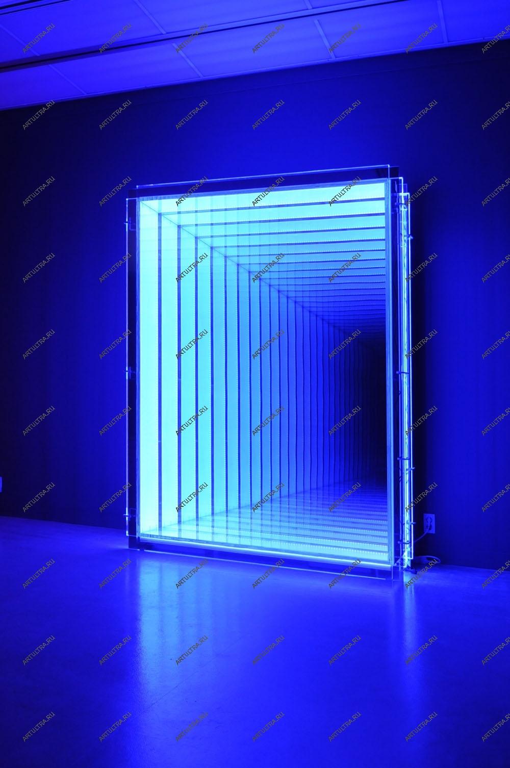 Светодиодное дверь своими руками