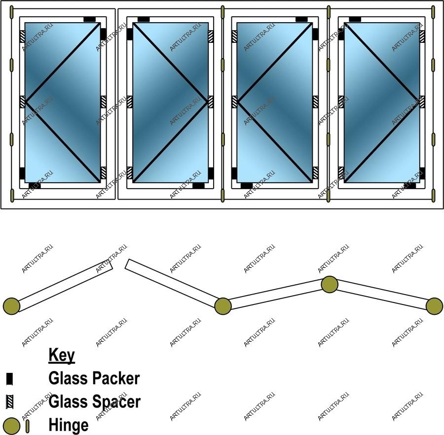 Монтаж двери раздвижной гармошка своими руками 340