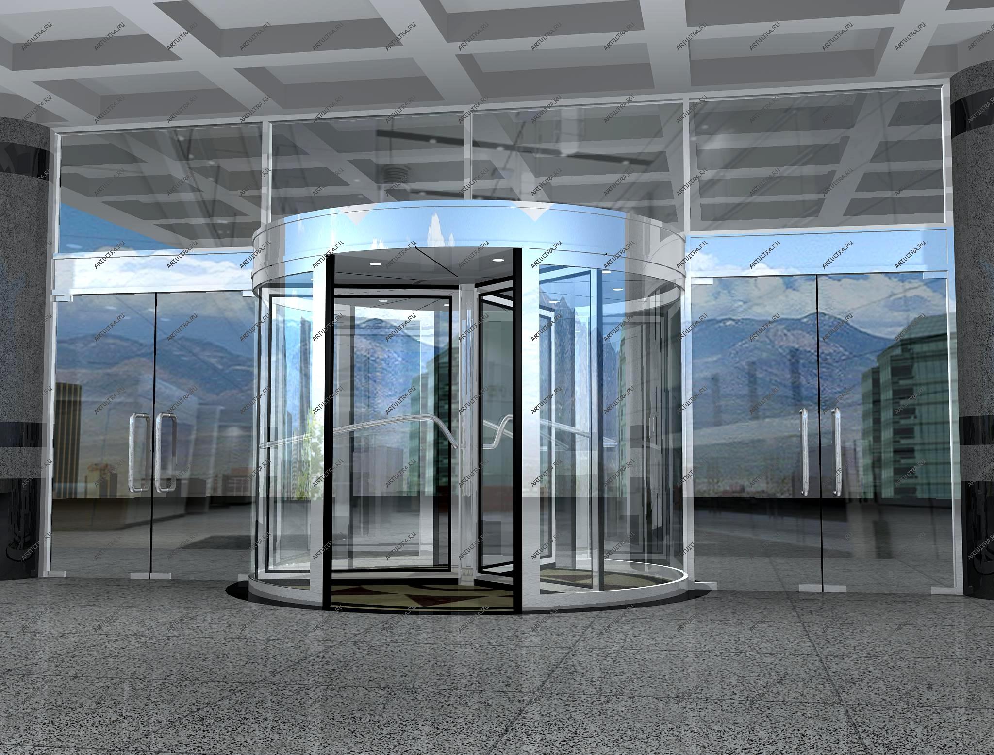 стальные офисные двери со стеклом