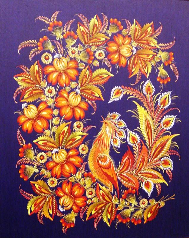 Фото и картинки городецкой росписи