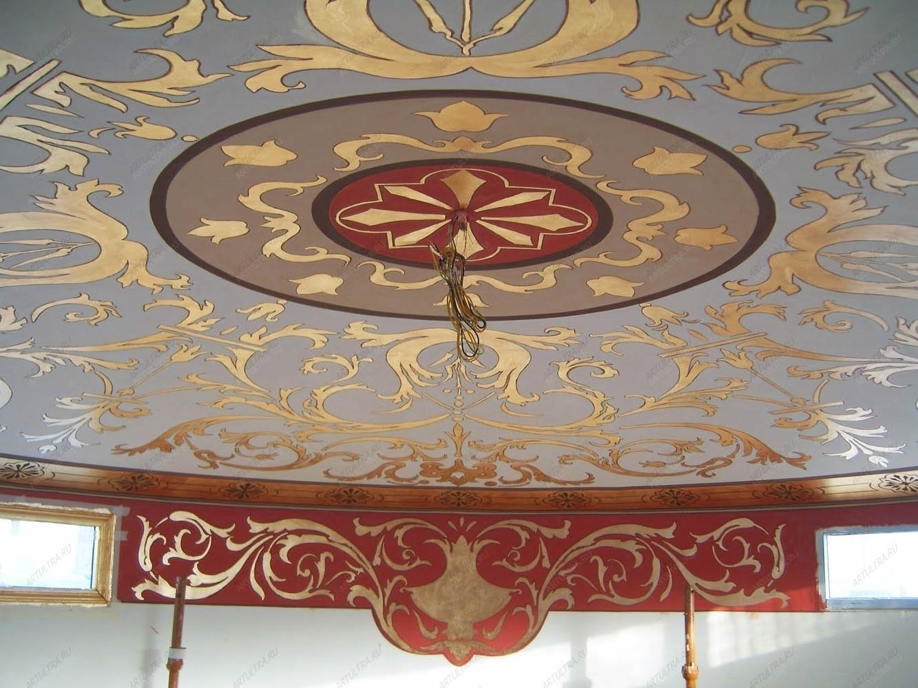 Как сделать потолок в деревянном доме - обустройство 25