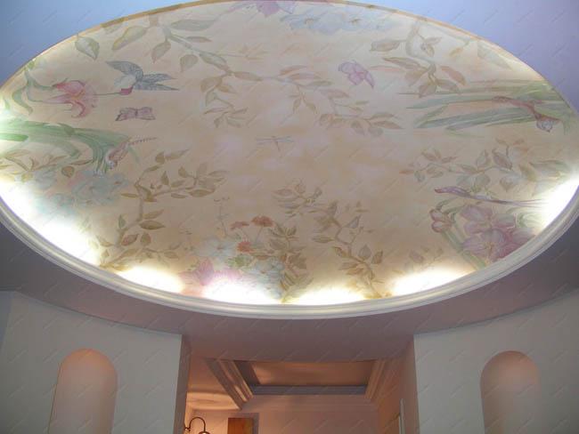 Фрески на потолок фото