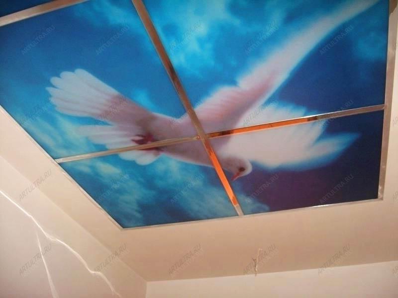 Технология росписи потолков