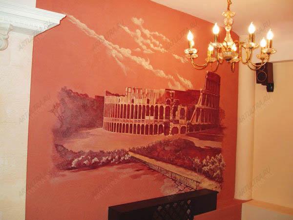 Воспитание восточно европейской овчПодготовка стены для росписи