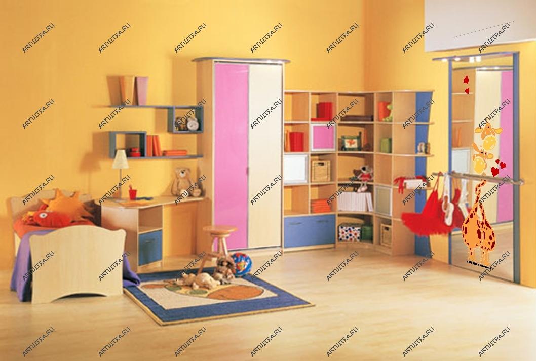 Как сделать перегородки в детской комнате 471